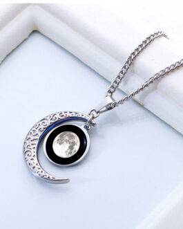 """COLGANTE ACERO """"Luna Encantada"""" (CAI-13MM-002)"""